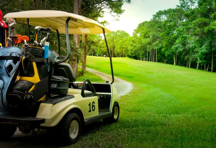 how to build a hunting golf cart